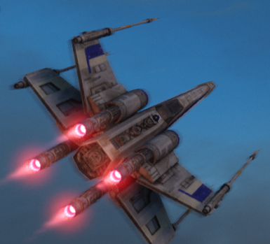 Blue Squadron X-Wing