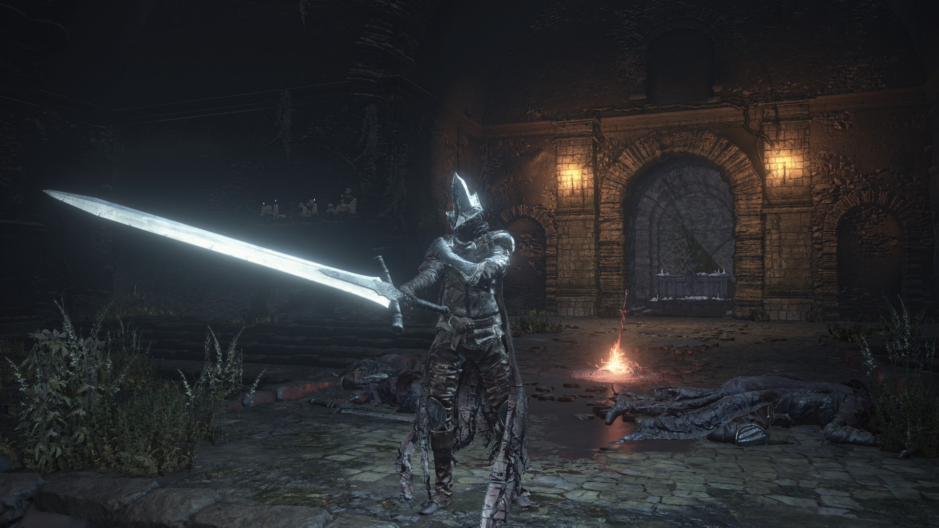 Abyss watcher roleplaying save game at dark souls 3 - Watchers dark souls 3 ...