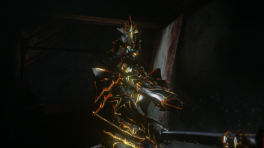 Ebony Golden Lion Ornstein Armor