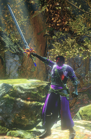 Fire Corrupted Master Sword