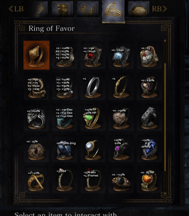 Informative Ring Icons
