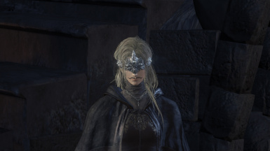 I Gave The Fire Keeper A Swirly Mustache
