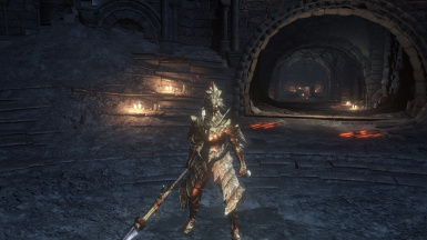 Golden Ornstein and Dragonslayer Spear
