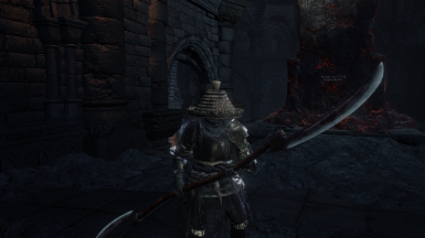 Monk Twinblade and Straw Hat