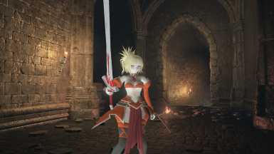Mordred from Fate Series