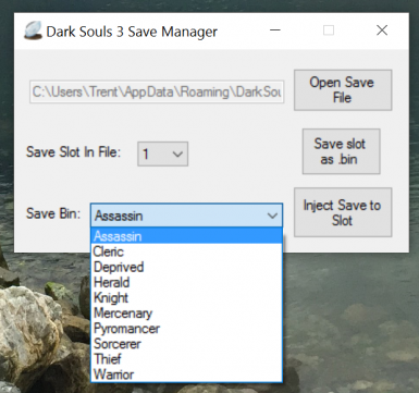 MegaMule Basic Edition and DkS3 Save Manager at Dark Souls 3 Nexus