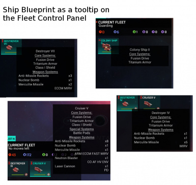 Fleet Control with BlueprintToolTip