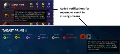 Event Tooltips