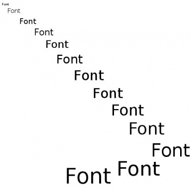 Increase Font Size
