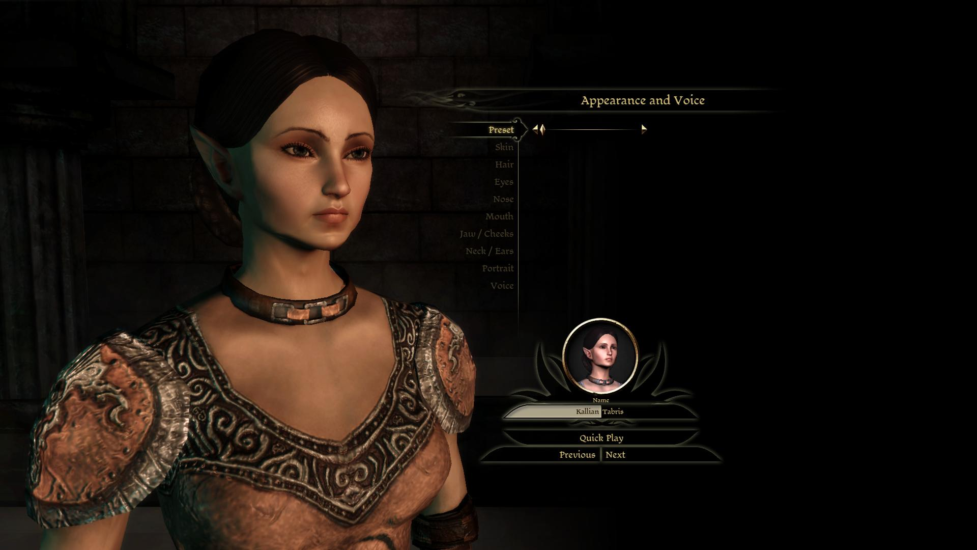 my pretty female elf morph at dragon age mods and community