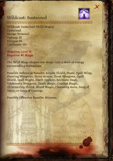 Wild Mage Specialization at Dragon Age - mods and community