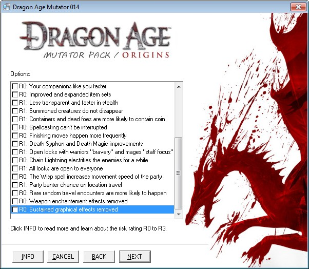 Dragon age origin trainer