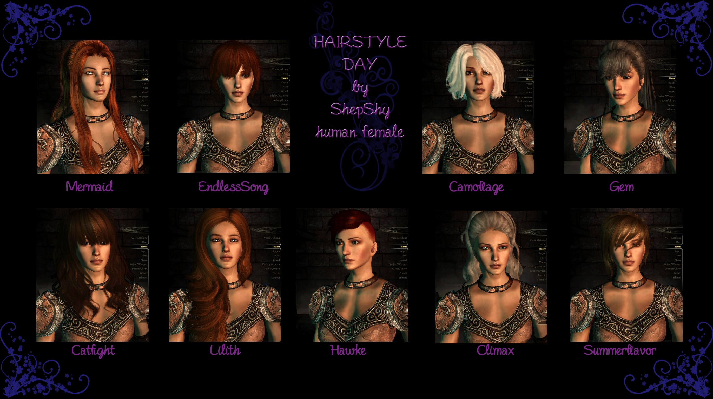 Hairstyle Day At Dragon Age Mods And Community