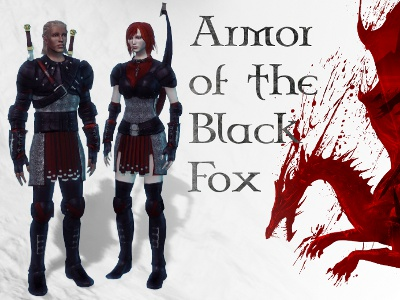 Armor of the Black Fox