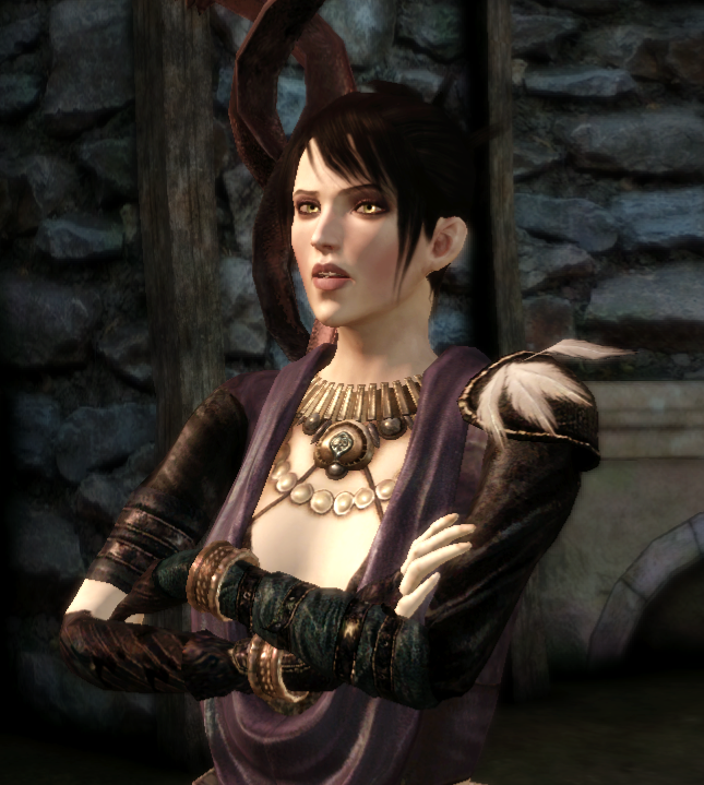 Morrigan's robe dragon age