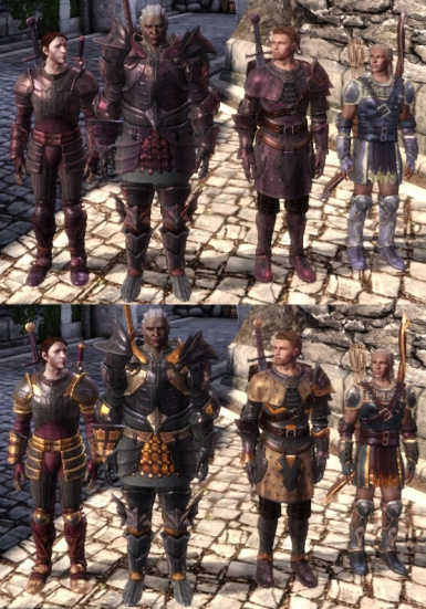 Alternative arms and armor tints