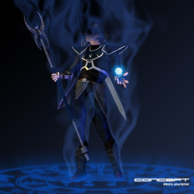 Armor of the Chaotic-Blue
