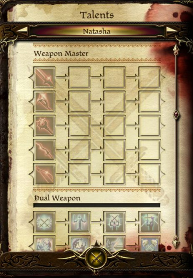 Weapon Master Specialization