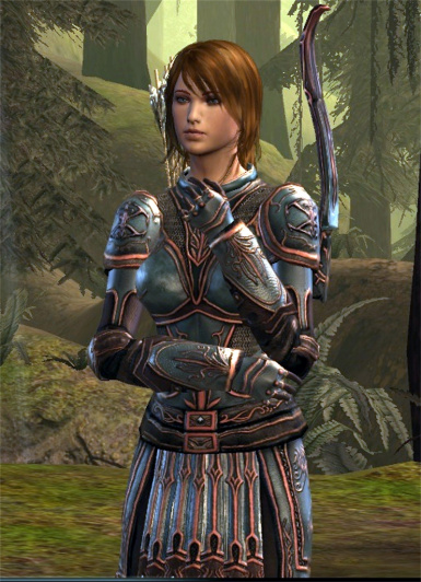Leliana in Battle Maiden Armor