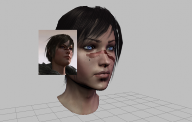 Female Hawke Eye Texture Comparsion