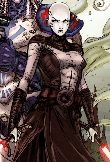Asajj Ventress Comic