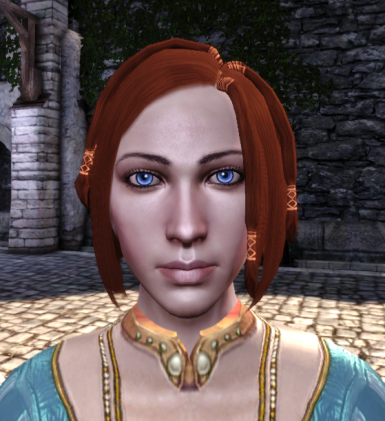 Lady Hawke Texture in Game