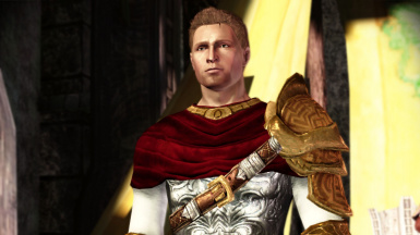 Red Gold optional Armor Variation for King Alistair during his wedding