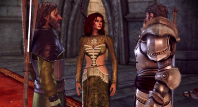Triss Gown w Sleeves Teaser
