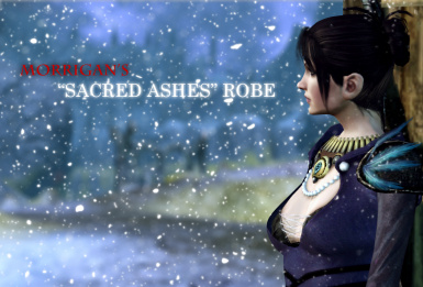 morrigan sacred ashes trailer robes