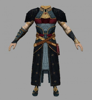 Enchanter robe reskinned