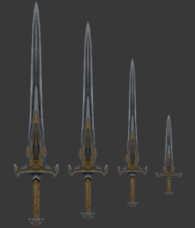 2 Greatswords - Longswords - Daggers