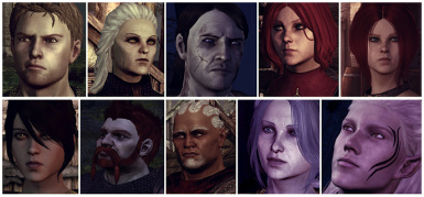 Sacred Ashes Team And More - SATAM - (Morrigan - Leliana - Sten - Alistair - Zevran - Wynne - Oghren - Justice - Flemeth)