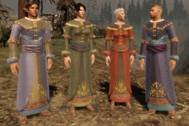 Brocade Mage Robes - Origins