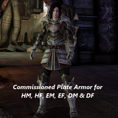 Massive Commissioned Plate Armor