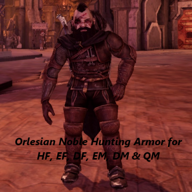 Orlesian Noble Hunting Armor