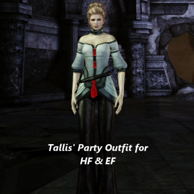 Tallis Party Outfit