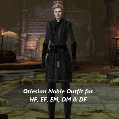 Orlesian Noble Outfit