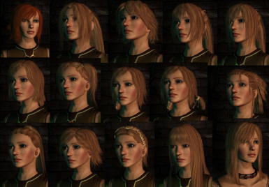 More Hairstyles At Dragon Age Mods And Community