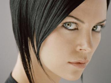 Aeon Flux bob angle 2 sorry for triple imagez