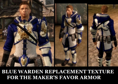 BLUE WARDEN REPLACEMENT FOR MAKER S FAVOR