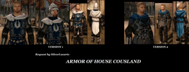 ARMOR OF HOUSE COUSLAND