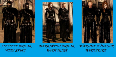 Assassin-Dark Wind and Warden Avenger replacements