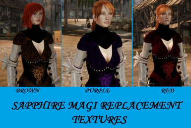 Sapphire Magi replacements