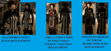 Warden Robe replacements