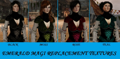 Emerald Magi replacements