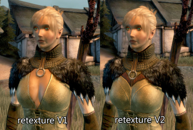More covered female chasind robes retexture