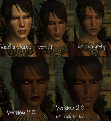 Morrigan and Flemeth Family Resemblence