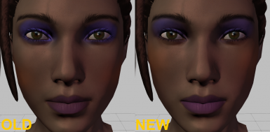 New makeup (100% opacity) ex2