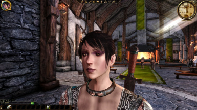 Human Noble with Morrigan's Face