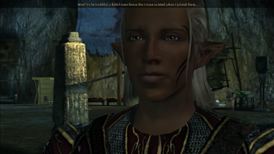 Youthful Zevran With Freckles (No More Wrinkles)